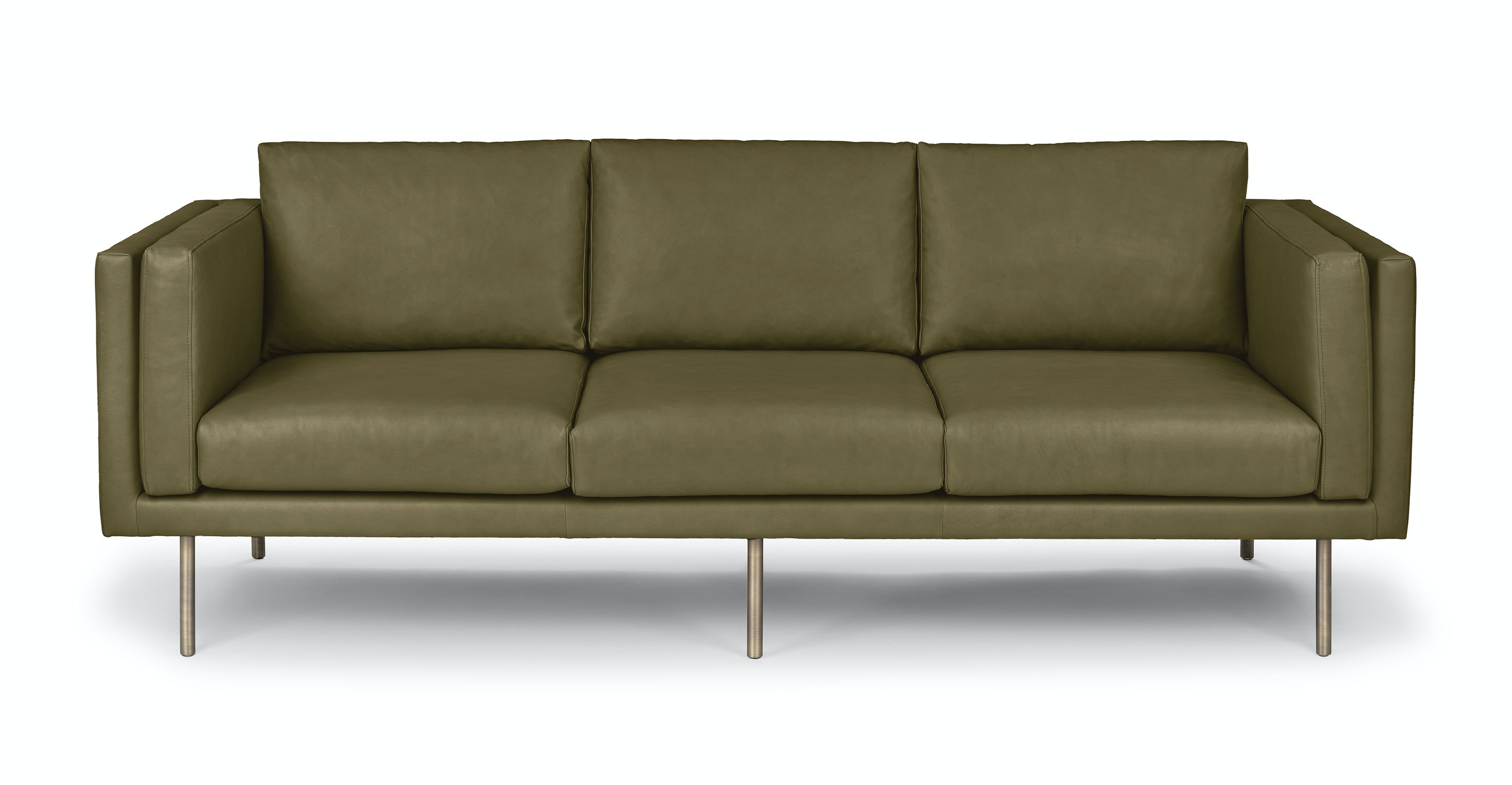 Belez Yuma Olive Green Sofa Sofas Article Modern