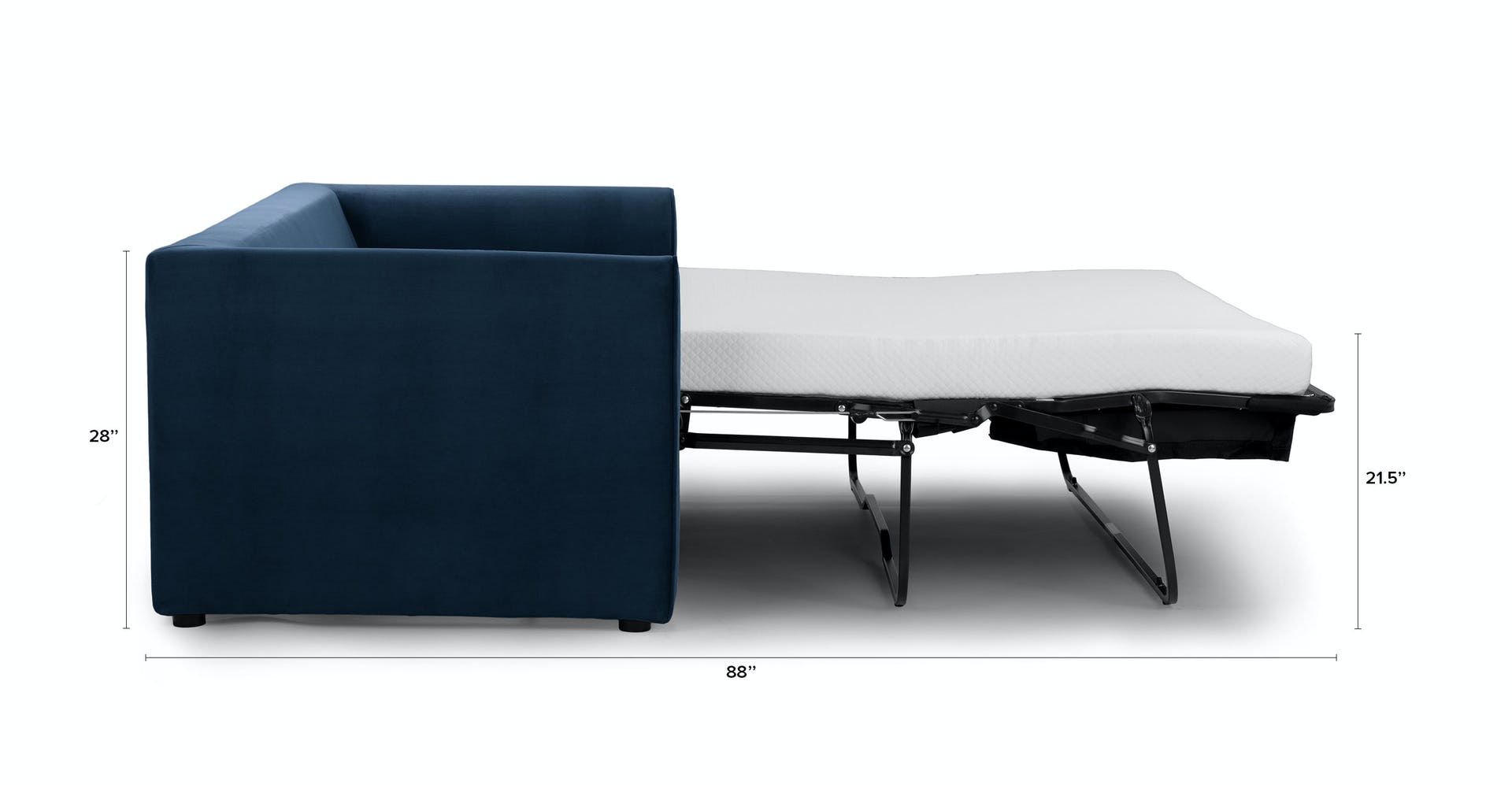 Oneira Tidal Blue Sofa Bed