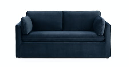 Blue Velvet Sofa Bed | Article