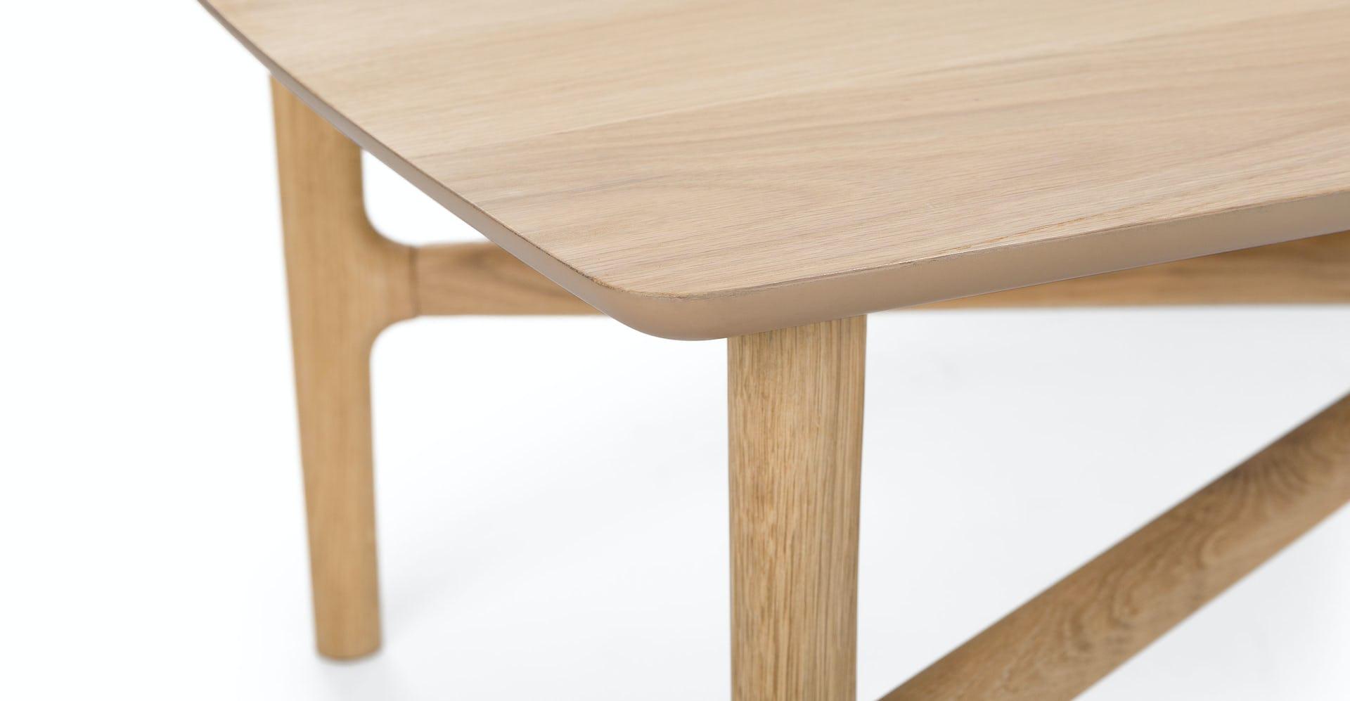 Phenomenal Brezza Light Oak Rectangular Coffee Table Machost Co Dining Chair Design Ideas Machostcouk