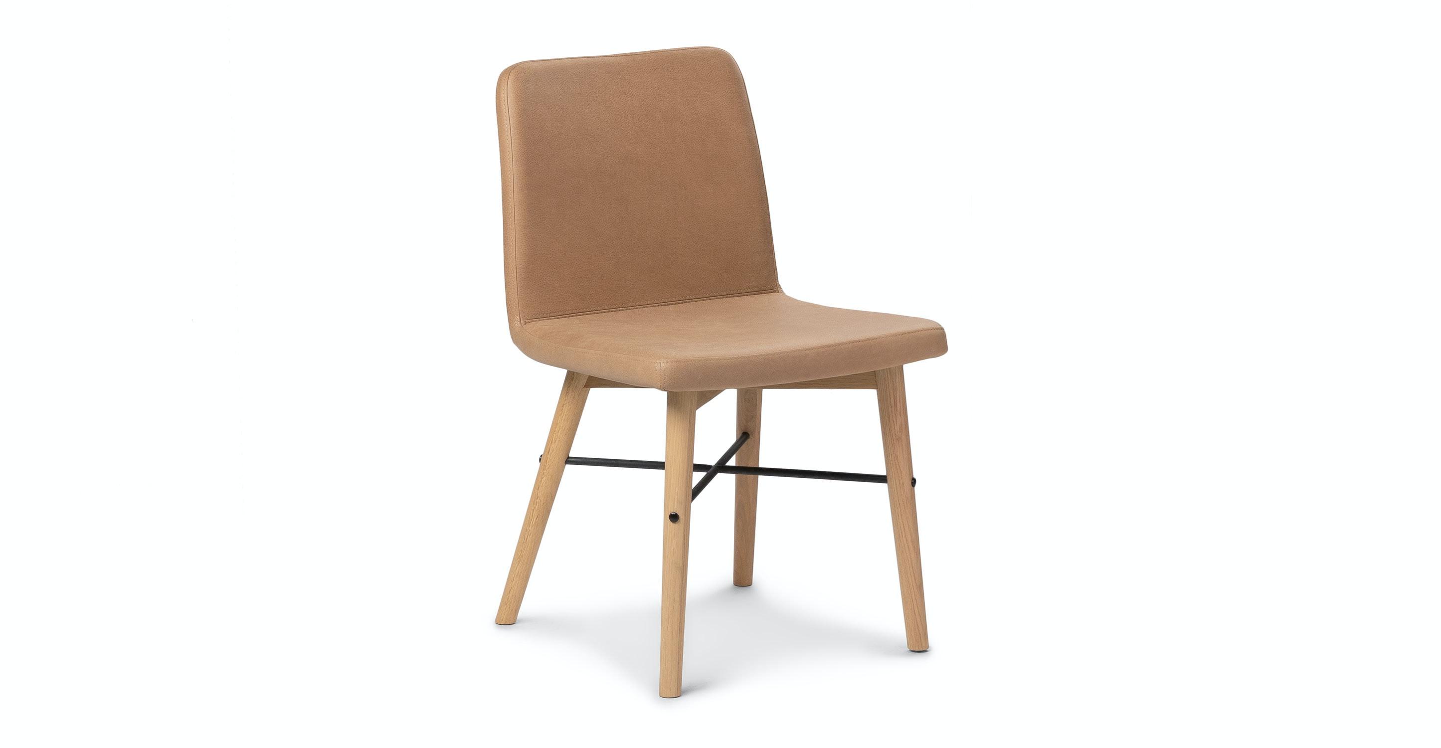 Superbe Kissa Canyon Tan Light Oak Dining Chair