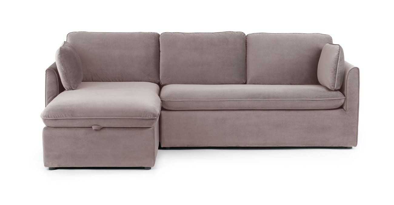 Oneira Dream Taupe Left Sofa Bed
