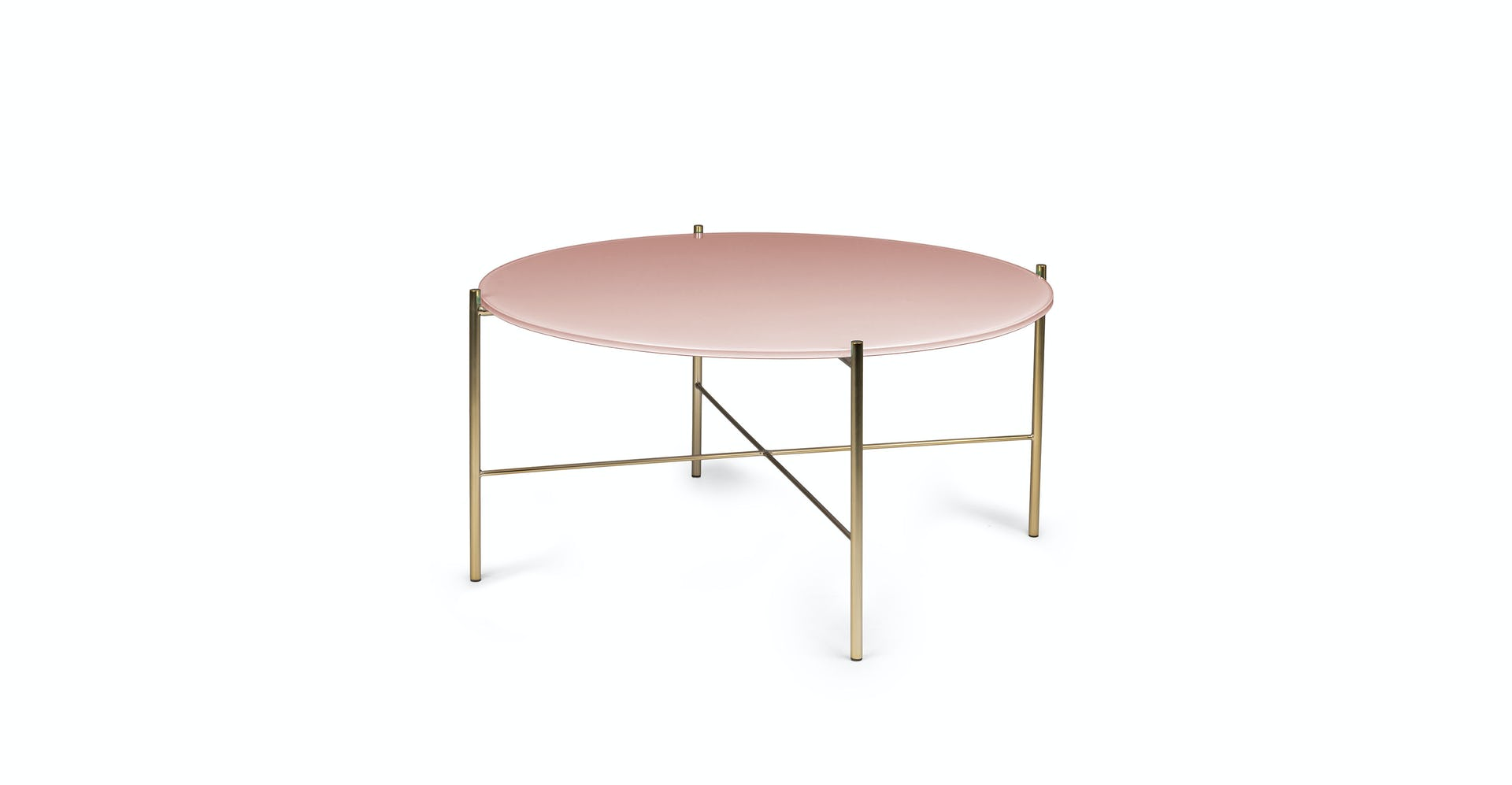 Pink Glass Coffee Table 6