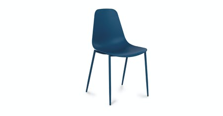 Blue Dining Room Chairs   Article