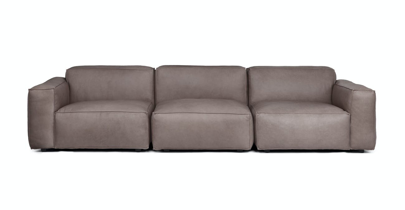 Solae Canyon Charcoal Modular Sofa