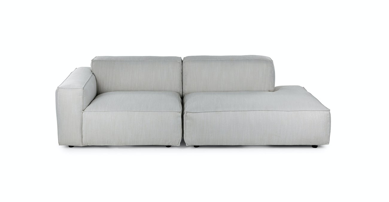 Solae Hush Gray Left Arm Modular Sofa