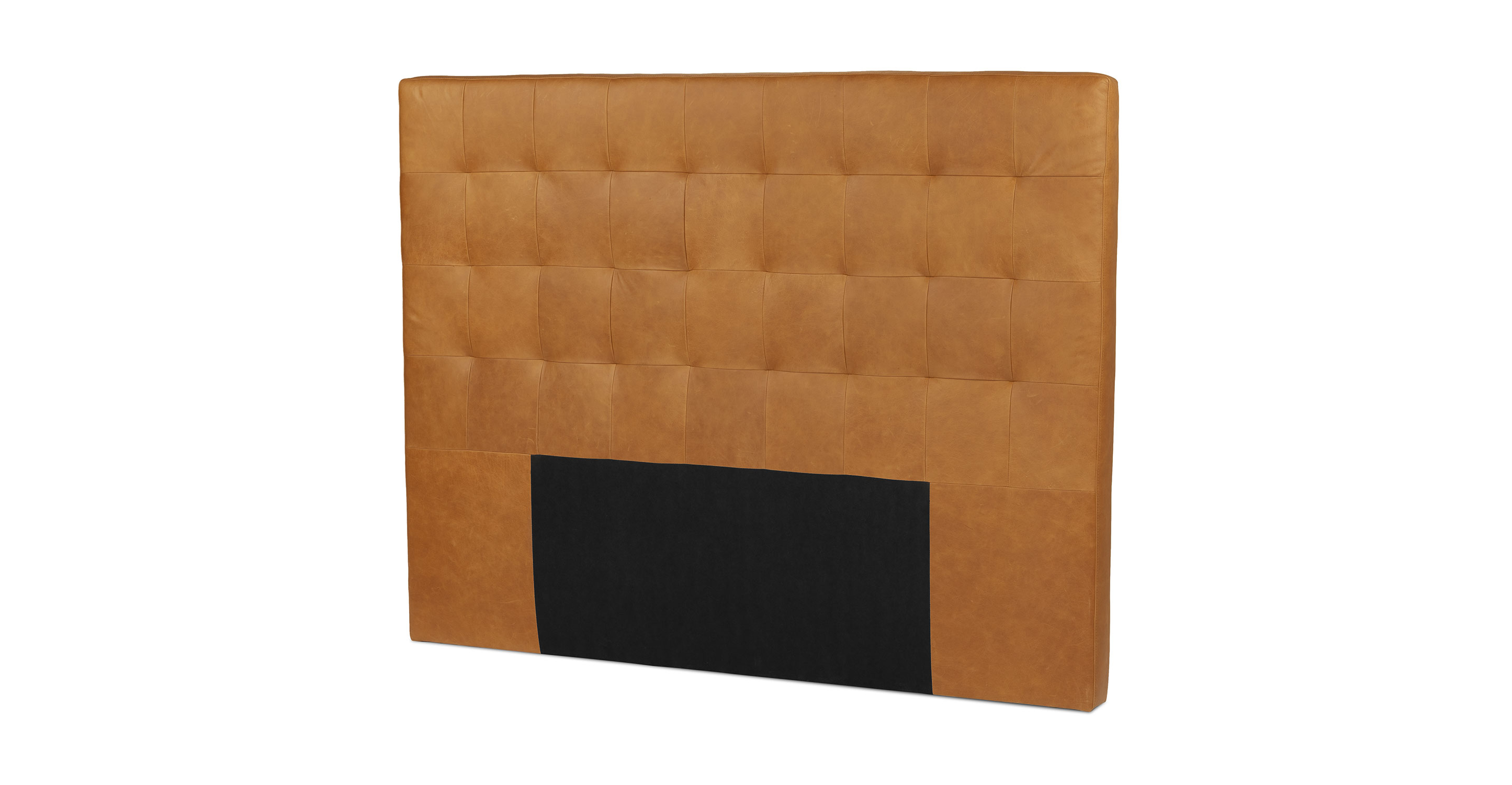 Charme Tan Lito Queen Size Leather Headboard Article