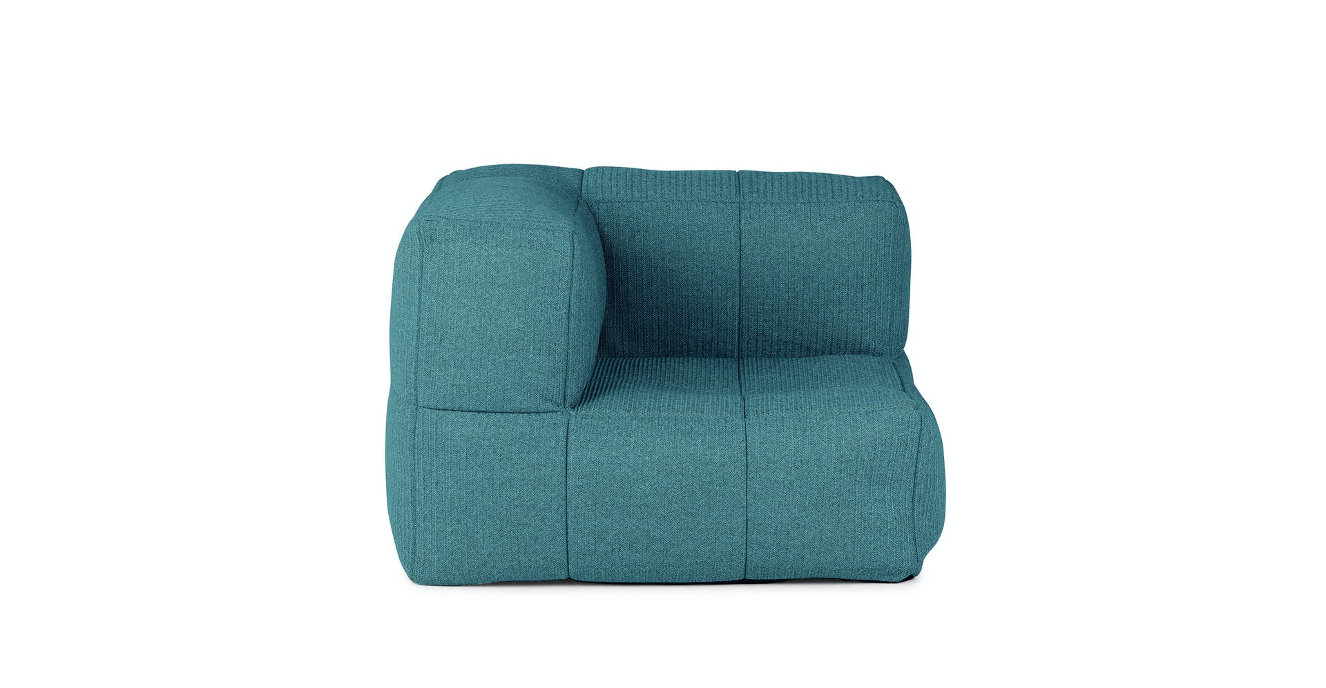 Magnificent Gios Capri Blue Corner Chair Gmtry Best Dining Table And Chair Ideas Images Gmtryco
