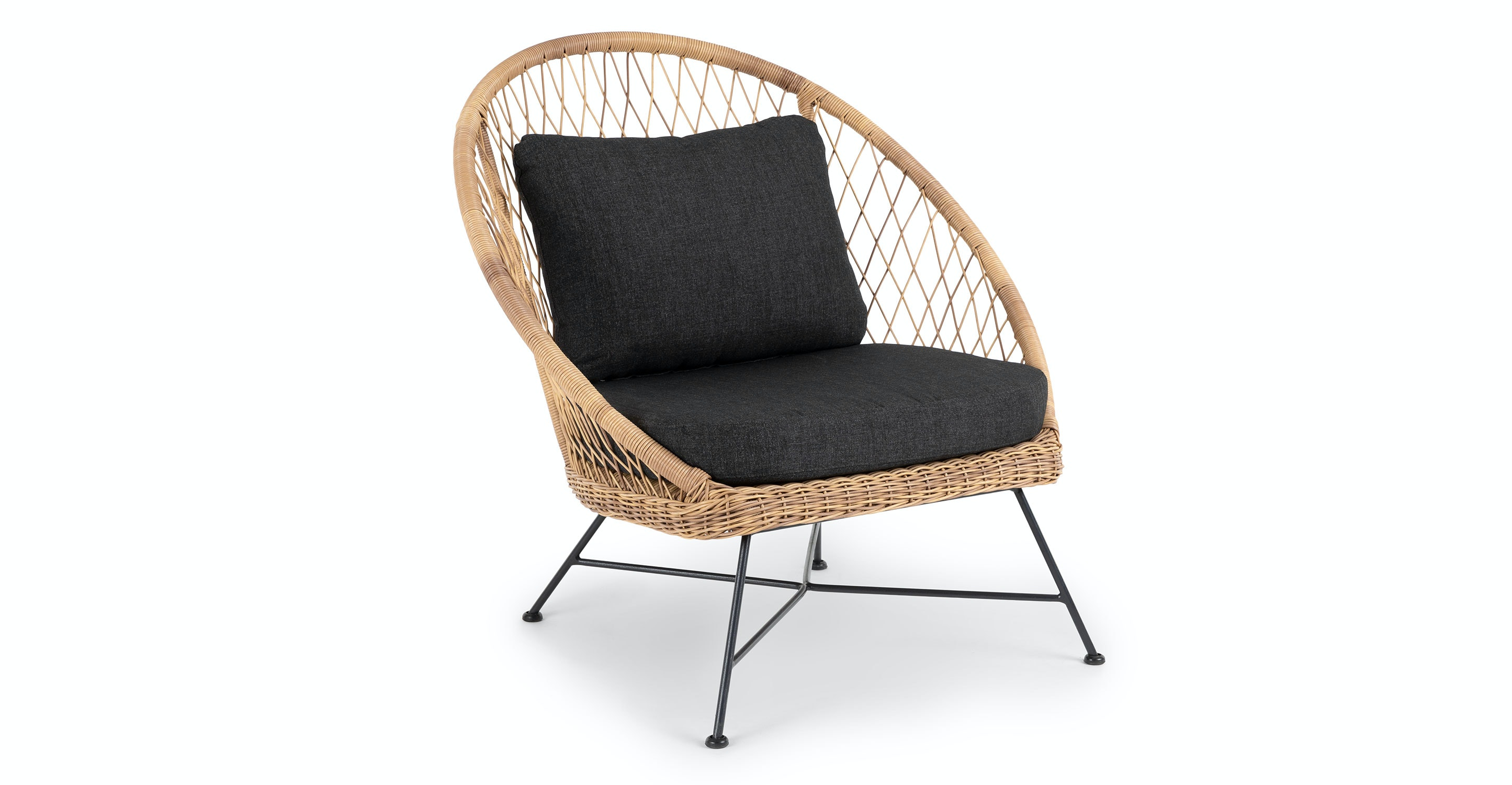 Privacy Policy >> Aeri Slate Gray Lounge Chair   Article