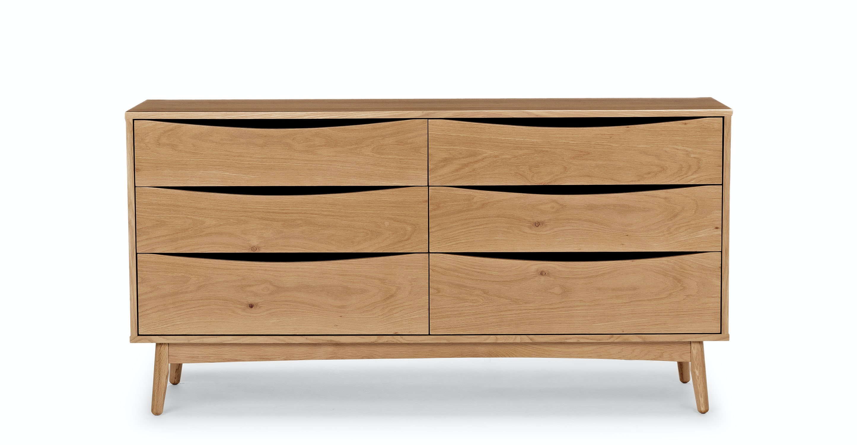 Shop Culla Oak 6 Drawer Double Dresser from Article on Openhaus