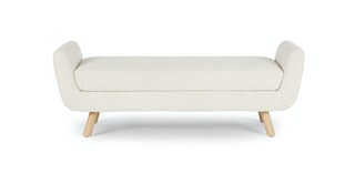White Bedroom Benches