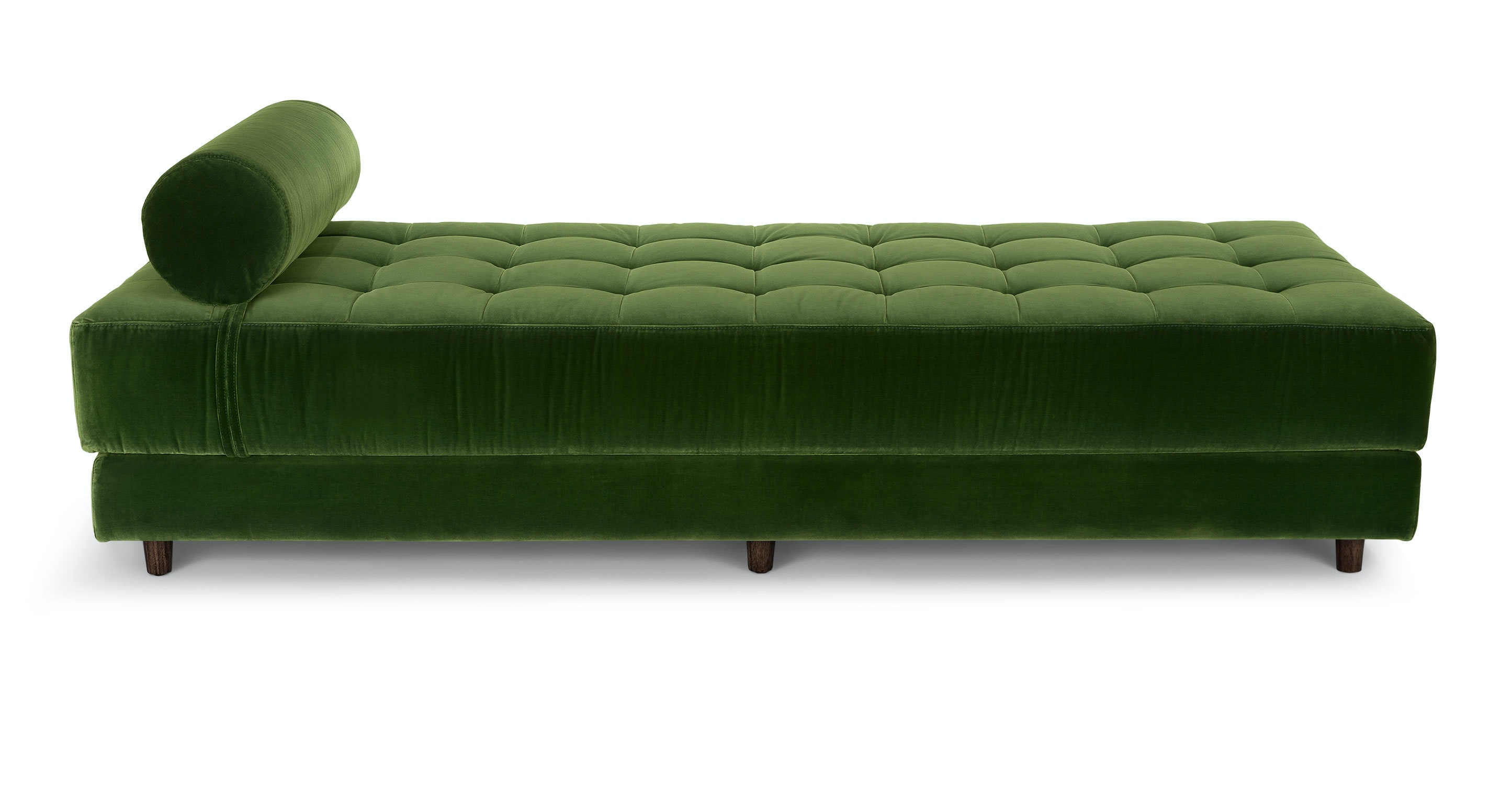 Sven Gr Green Daybed Sofas Article Modern Mid Century And Scandinavian Furniture