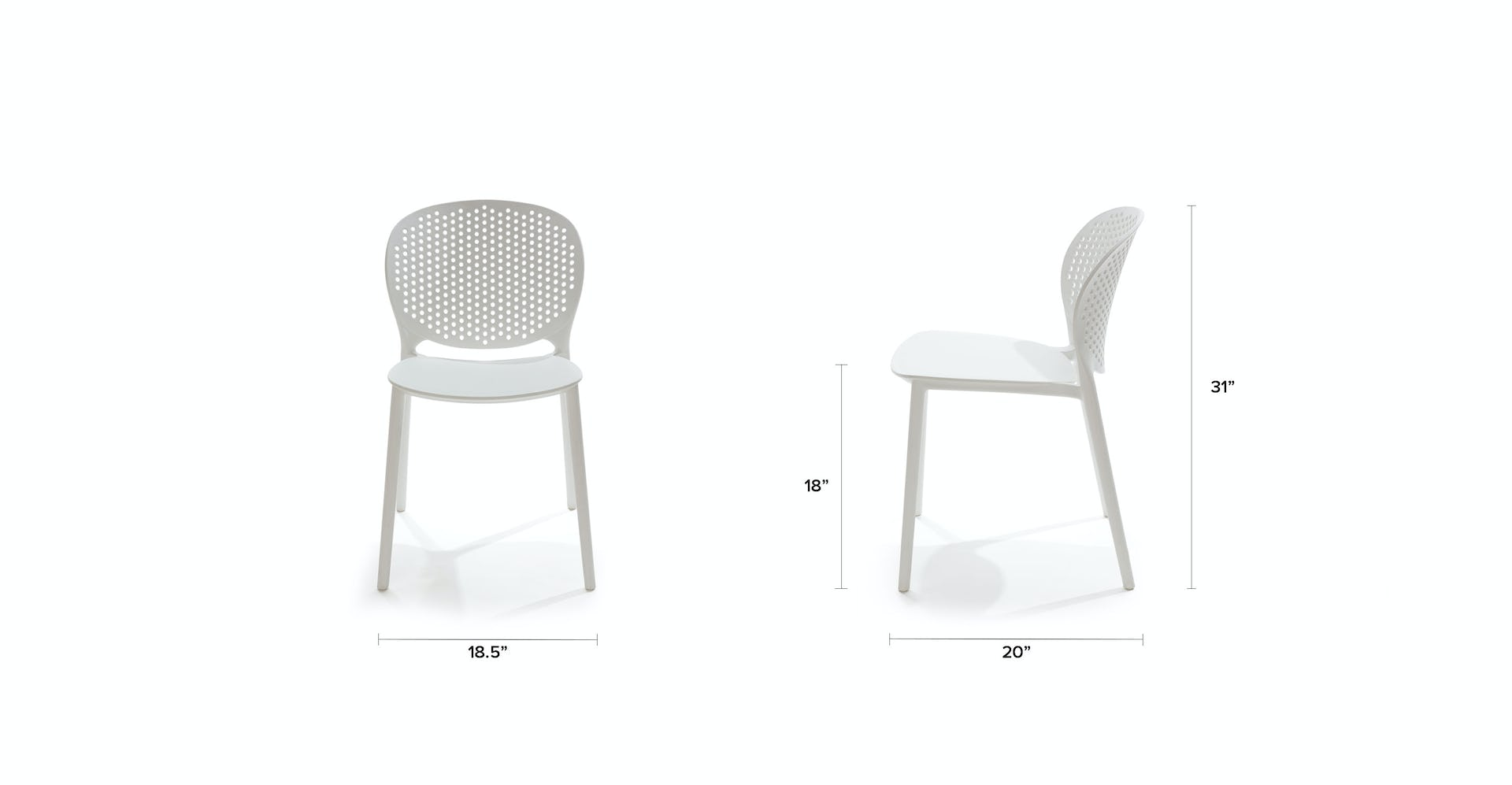 Strange White Dot Outdoor Dining Chair Article Ibusinesslaw Wood Chair Design Ideas Ibusinesslaworg
