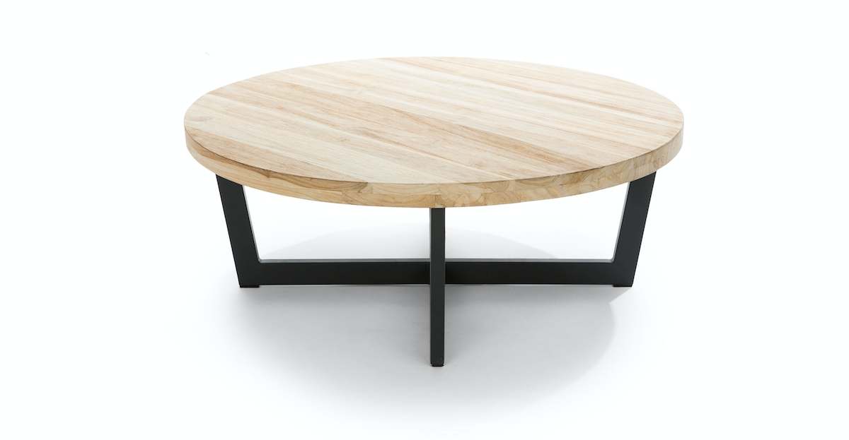Toba Natural Teak Coffee Table | Article