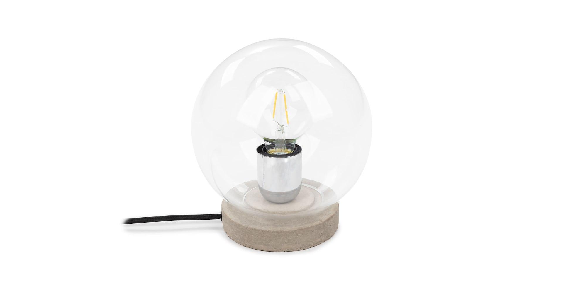 Orb Concrete Table Lamp Article