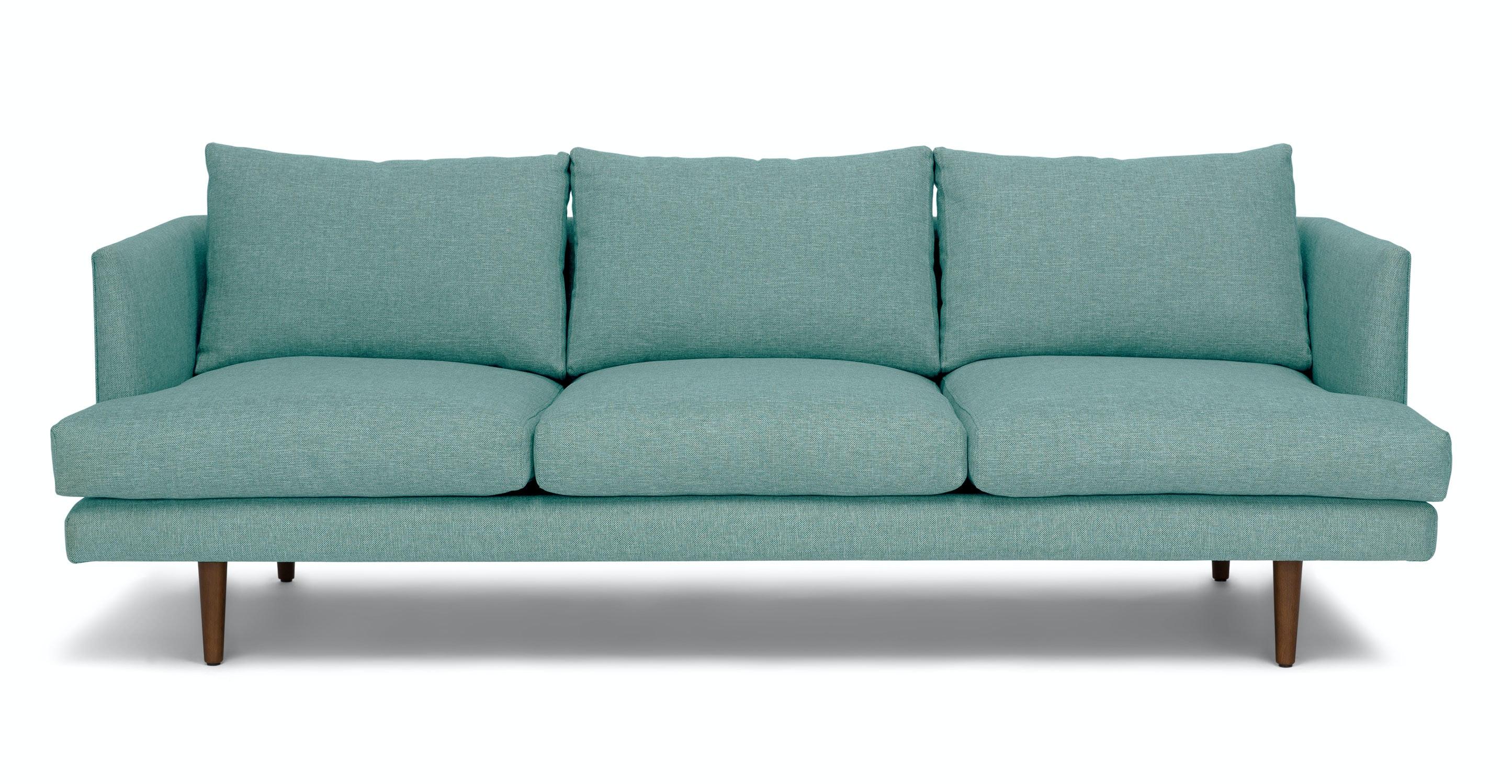 Burrard Seaglass Aqua Sofa   Sofas   Article   Modern, Mid Century And  Scandinavian Furniture