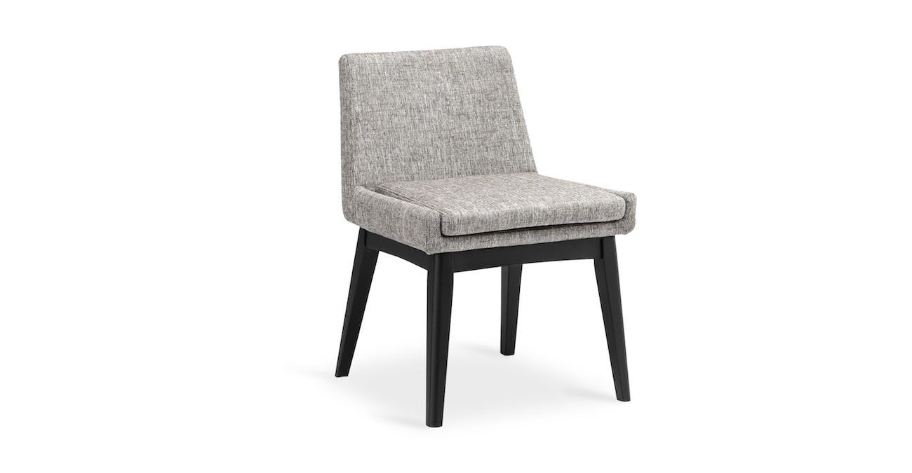 Tremendous Chanel Coral Ebony Dining Chair Gmtry Best Dining Table And Chair Ideas Images Gmtryco