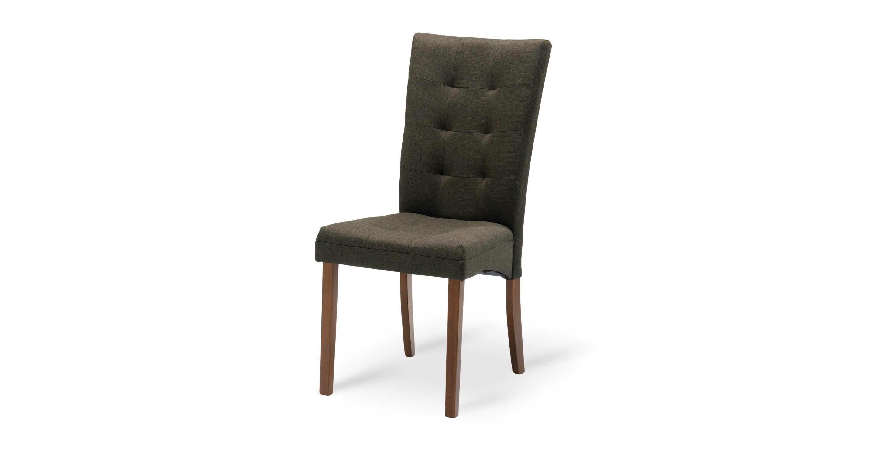 Anne Cafe Fabric Upholstered Cocoa Dining Chair