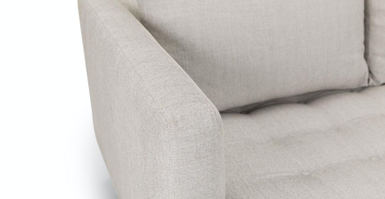Stupendous Parker Coconut White Sofa Pdpeps Interior Chair Design Pdpepsorg