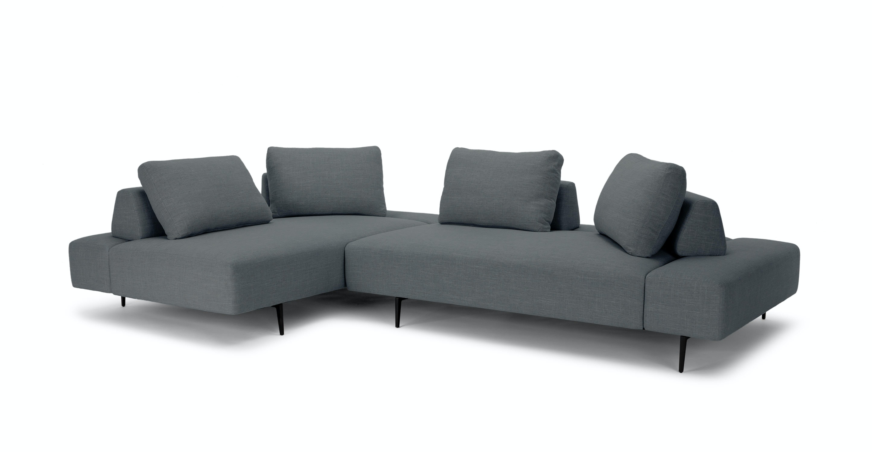 Divan Thunder Gray Sectional   Sectionals   Article | Modern, Mid Century  And Scandinavian Furniture