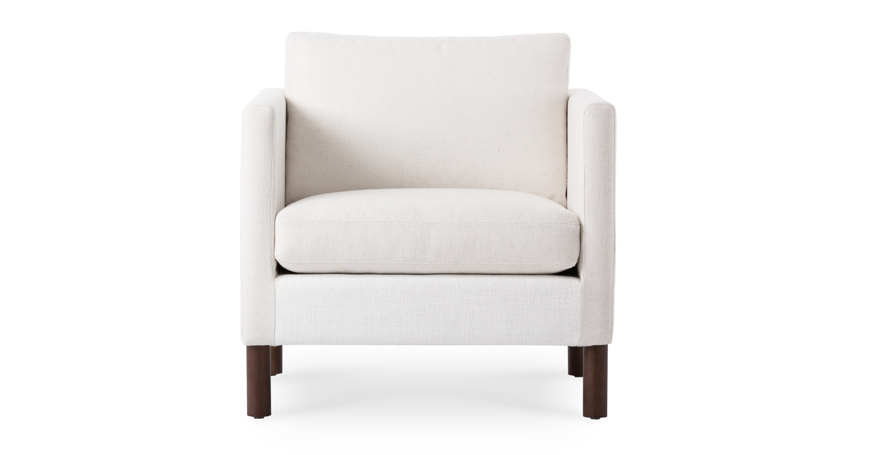 Nova Creamy White Armchair Lounge Chairs Article