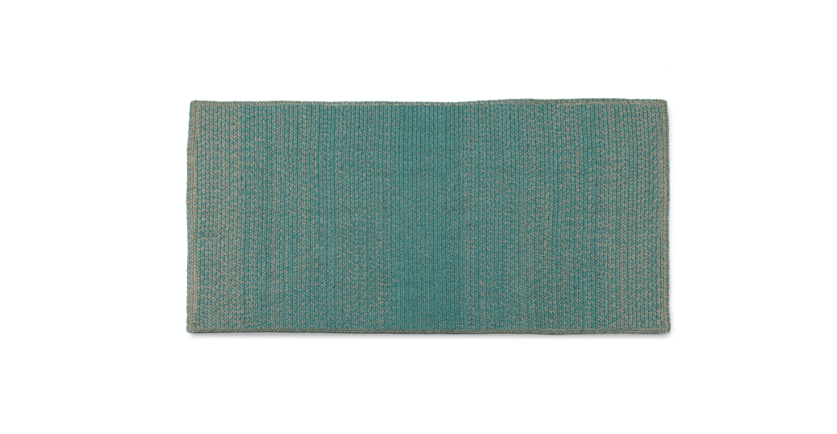 Stria Turquoise Gray Runner 2 5 X 5 Rugs Article