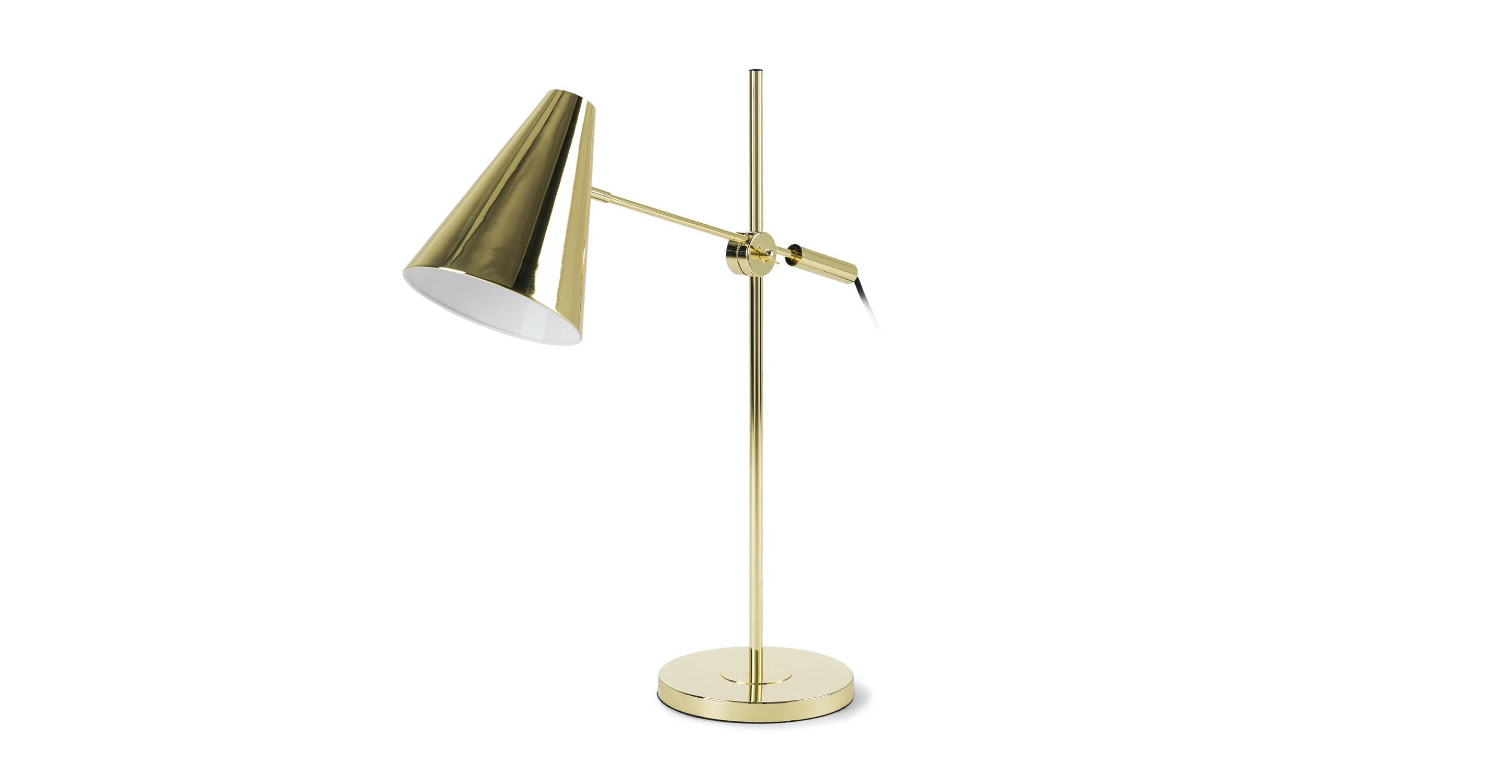 Beam Brass Table Lamp