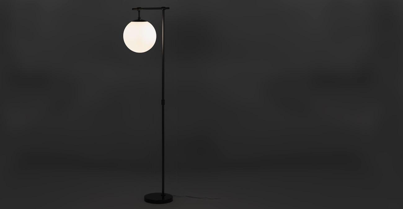 Pendula Gunmetal Floor Lamp