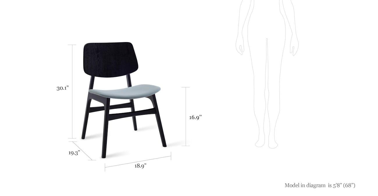 Incredible Margo Jade Fabric Black Dining Chair Lamtechconsult Wood Chair Design Ideas Lamtechconsultcom