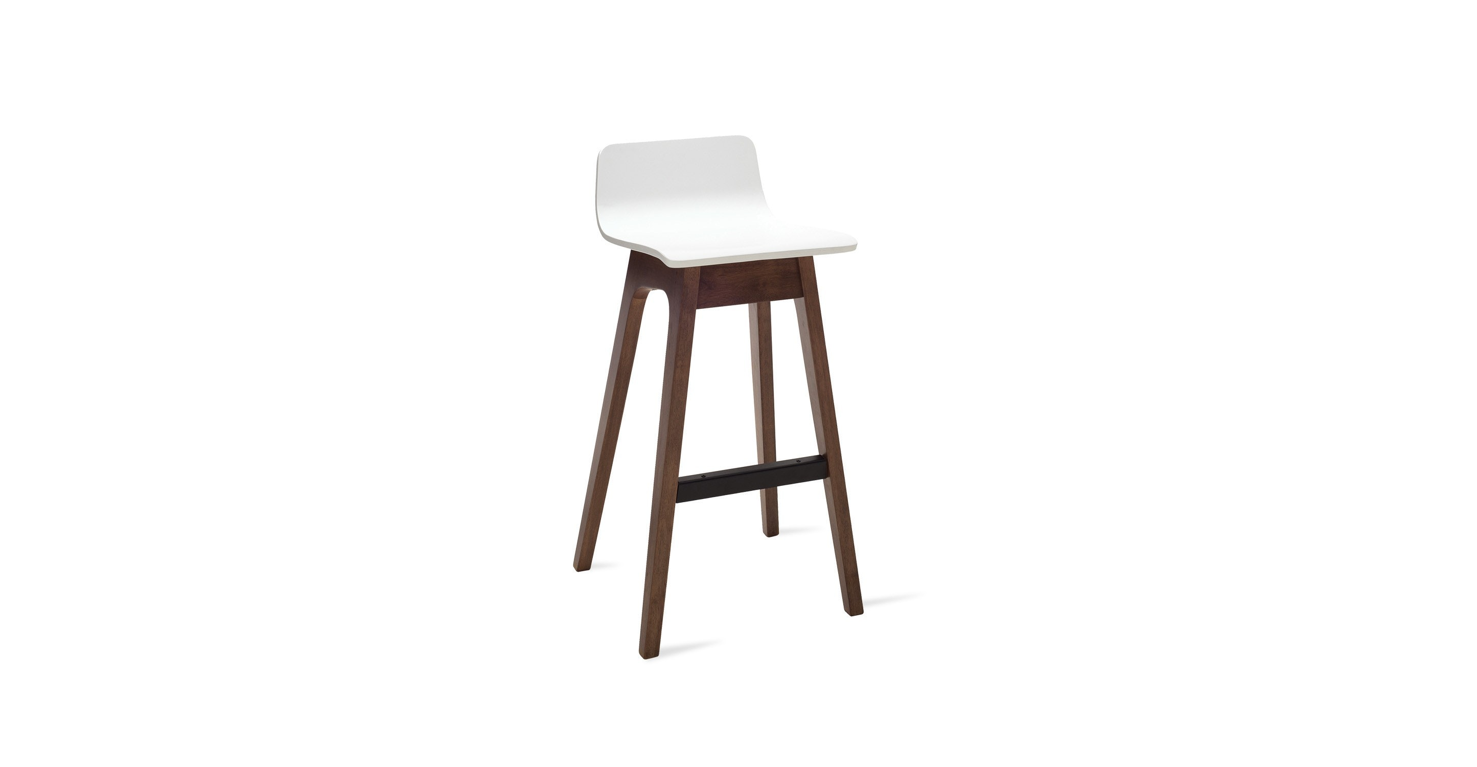 Ava White Bar Stool Chairs Amp Stools Article Modern