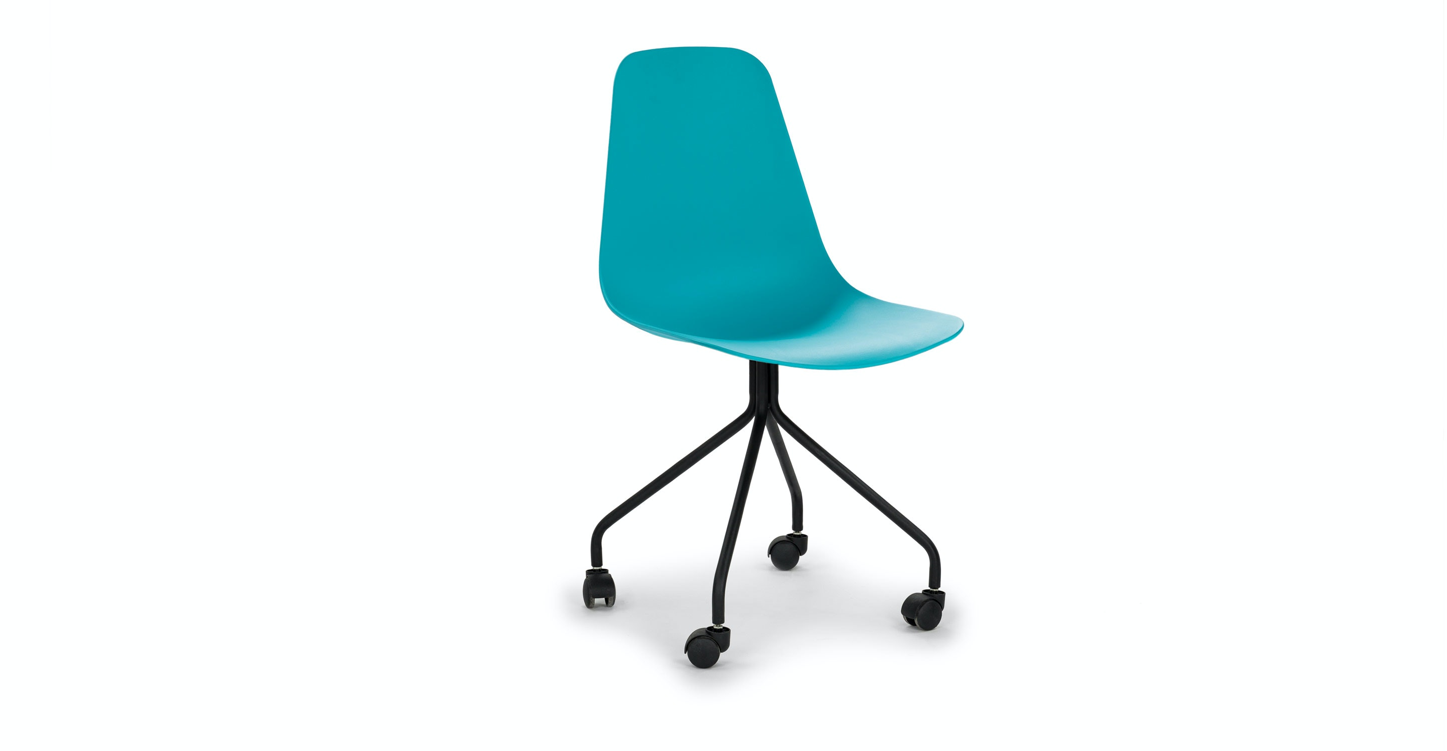 Svelti Poolside Aqua Office Chair   Chairs   Article | Modern, Mid Century  And Scandinavian Furniture