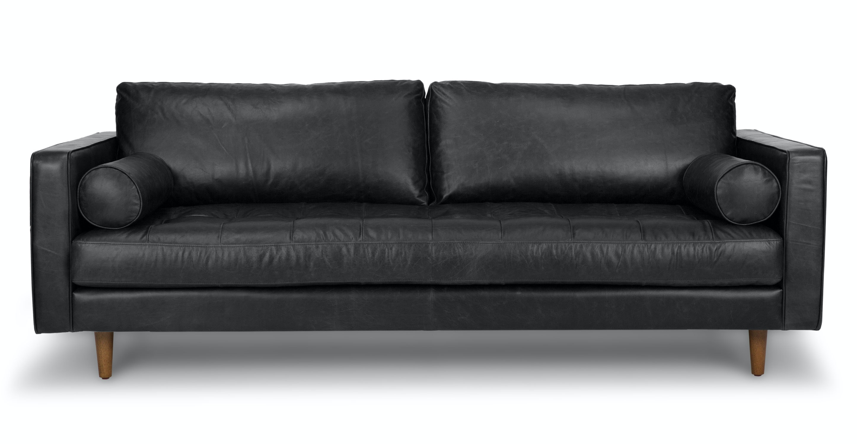 Sven Oxford Black Sofa Sofas Article Modern Mid
