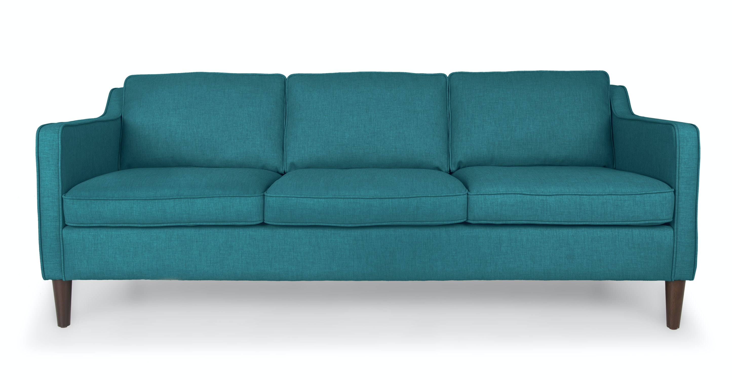 Cherie Ocean Teal Sofa Sofas Article Modern Mid Century And Scandinavian Furniture