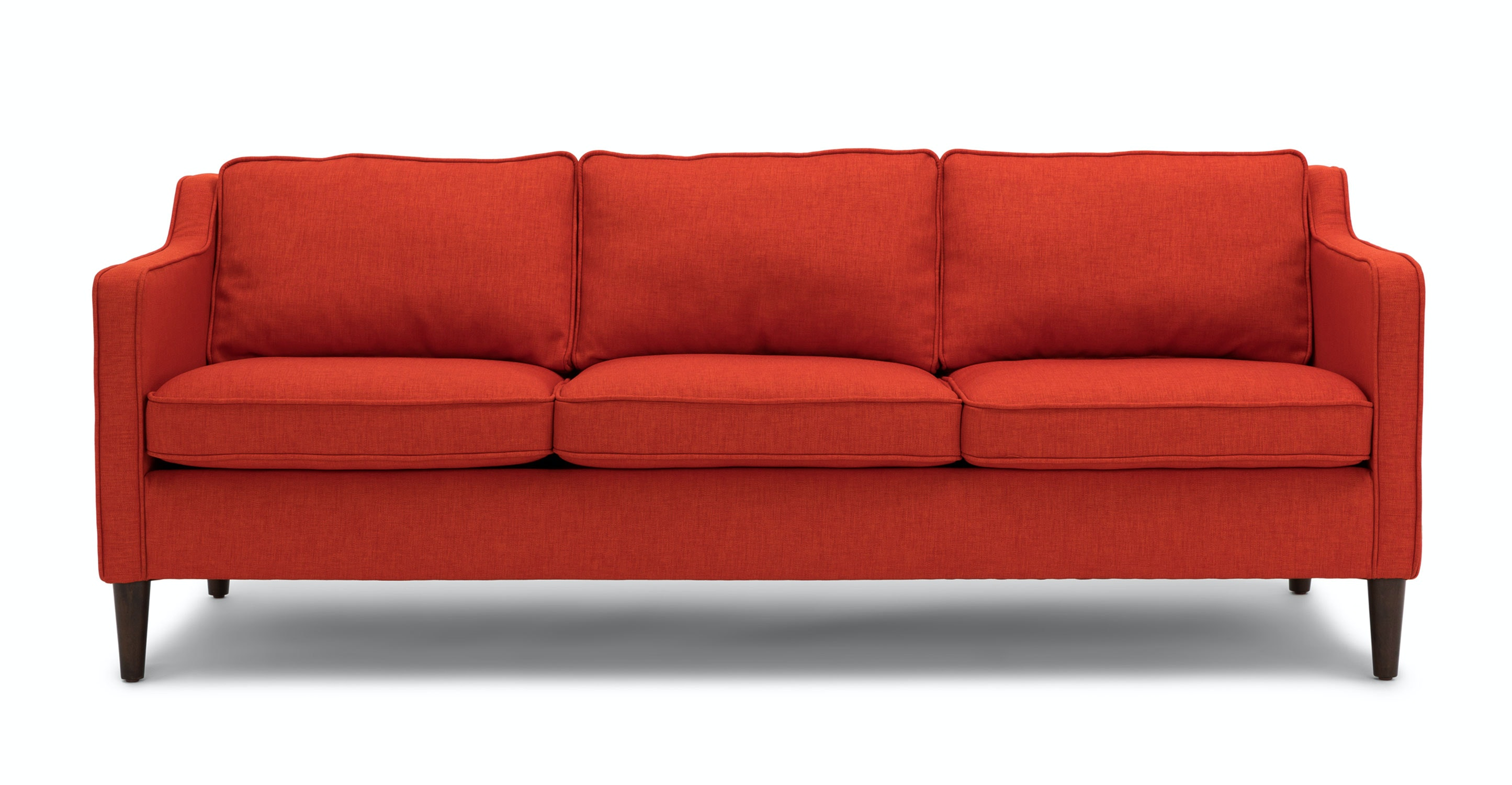 Cherie Fiery Orange Sofa   Sofas   Article | Modern, Mid Century And  Scandinavian Furniture