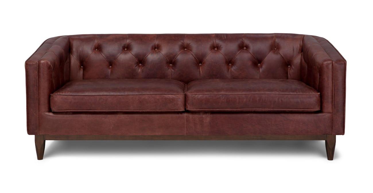 Alcott Charme Oxblood Sofa