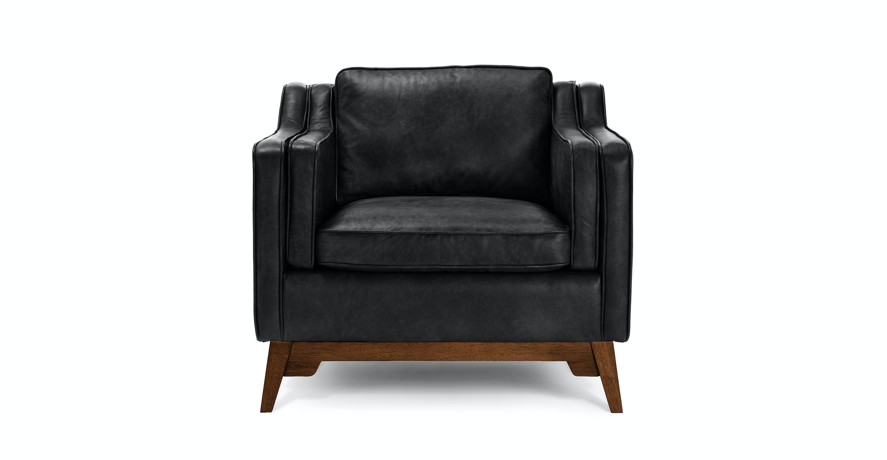 Superbe Worthington Oxford Black Armchair