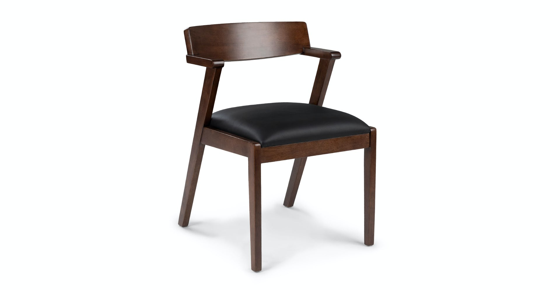 Amazing Zola Black Leather Dining Chair Uwap Interior Chair Design Uwaporg