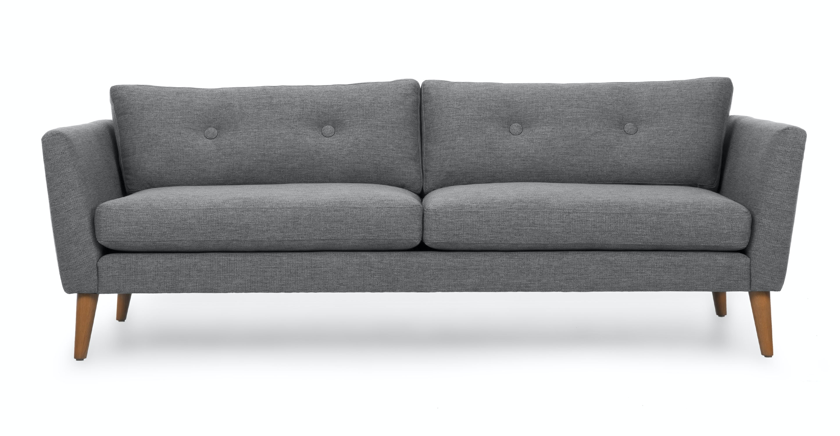 emil gravel gray sofa sofas article modern mid century and scandinavian furniture. Black Bedroom Furniture Sets. Home Design Ideas