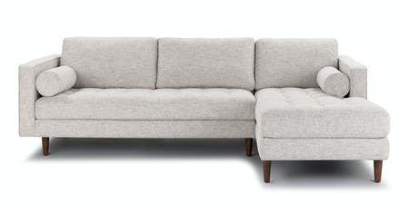 Contemporary Mid Century Modern Sectional Sofas Couches