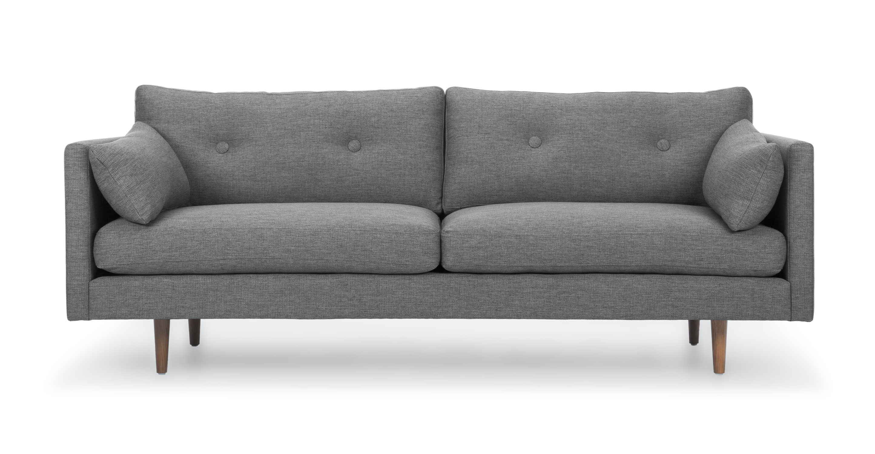 anton gravel gray sofa sofas article modern mid century and scandinavian furniture. Black Bedroom Furniture Sets. Home Design Ideas