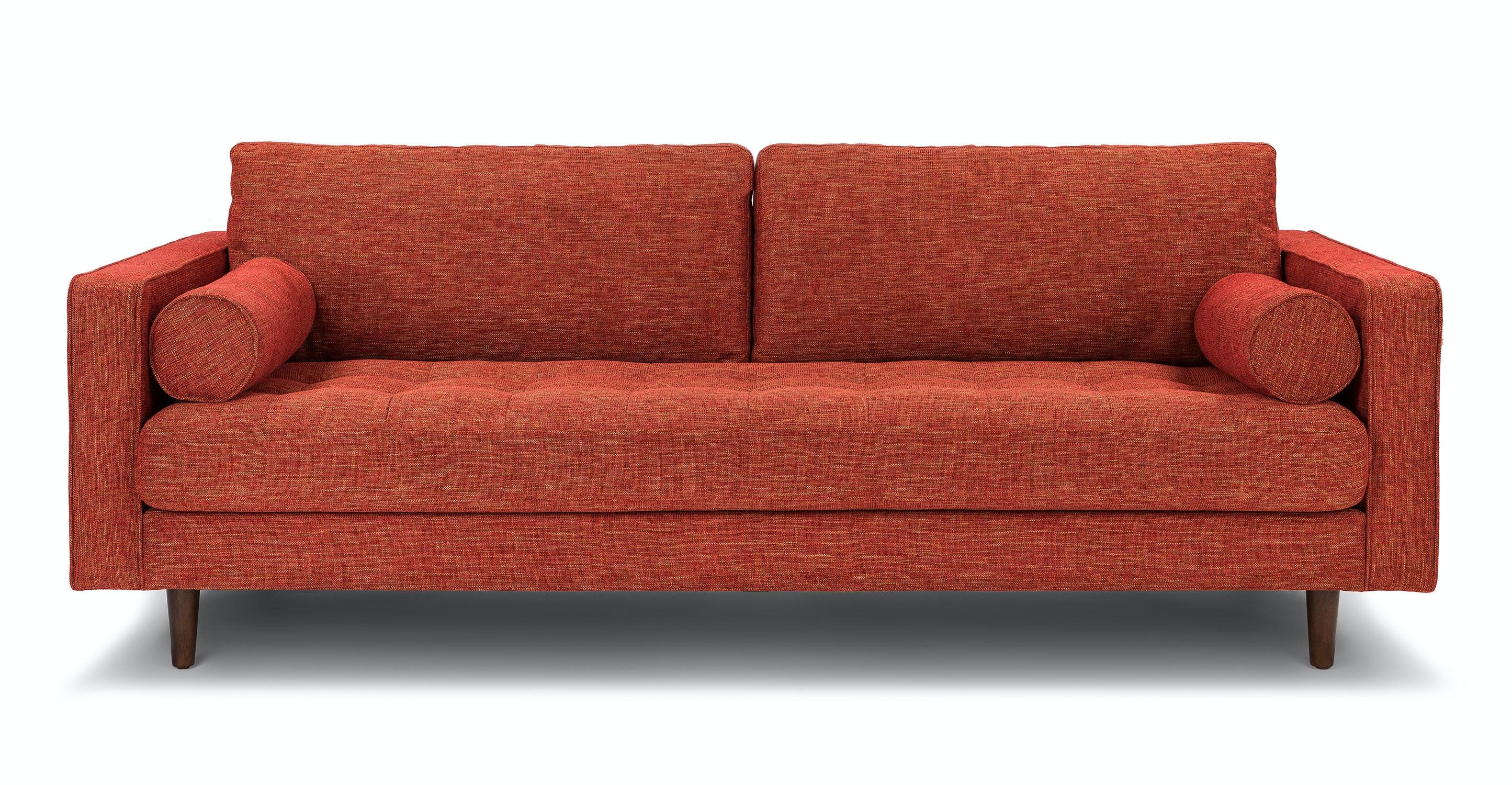 Sven Salsa Orange Sofa | Article