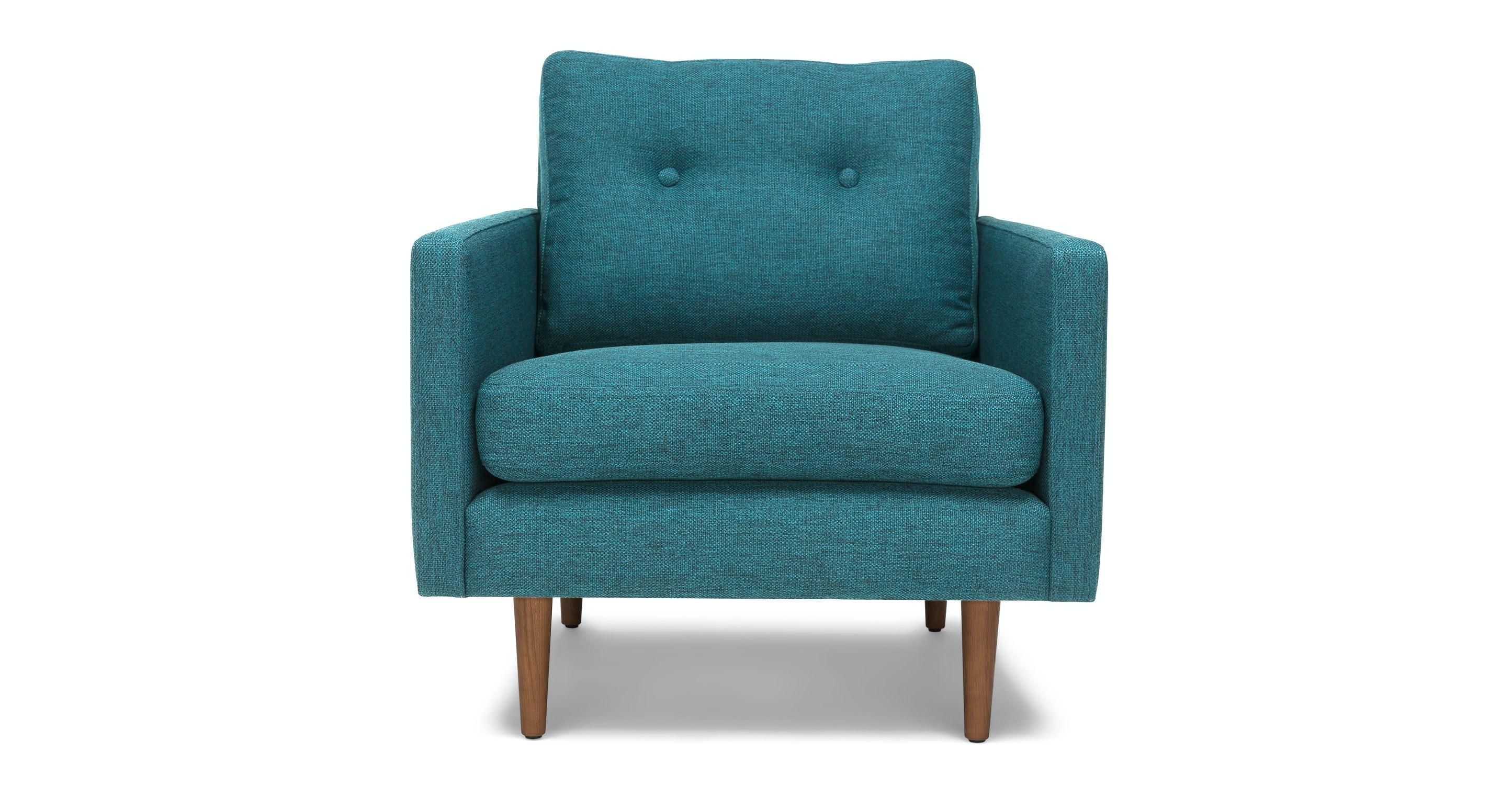 Noah Arizona Turquoise Armchair Lounge Chairs Article