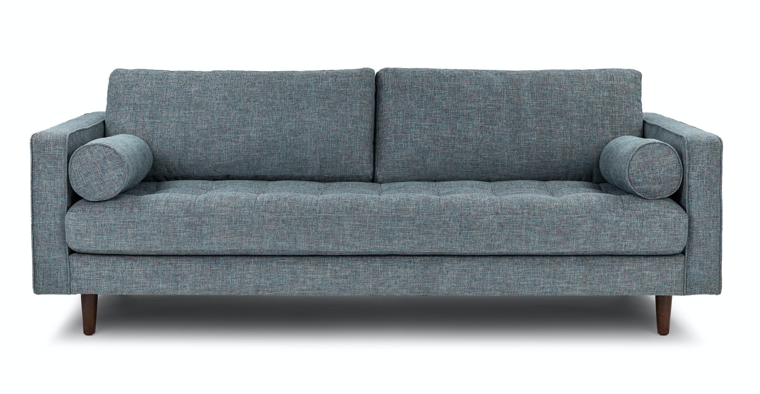 Sven Aqua Tweed Sofa   Sofas   Article | Modern, Mid Century And  Scandinavian Furniture