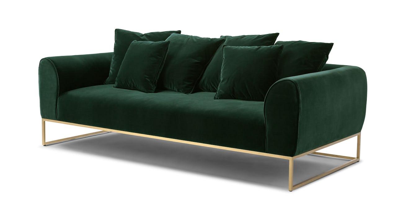 Kits Balsam Green Sofa