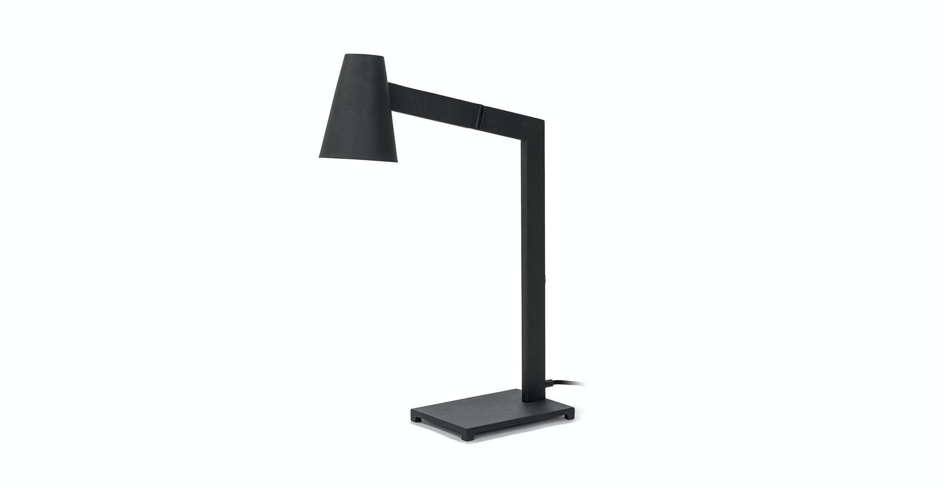 Black Axis 24 Table Lamp Article