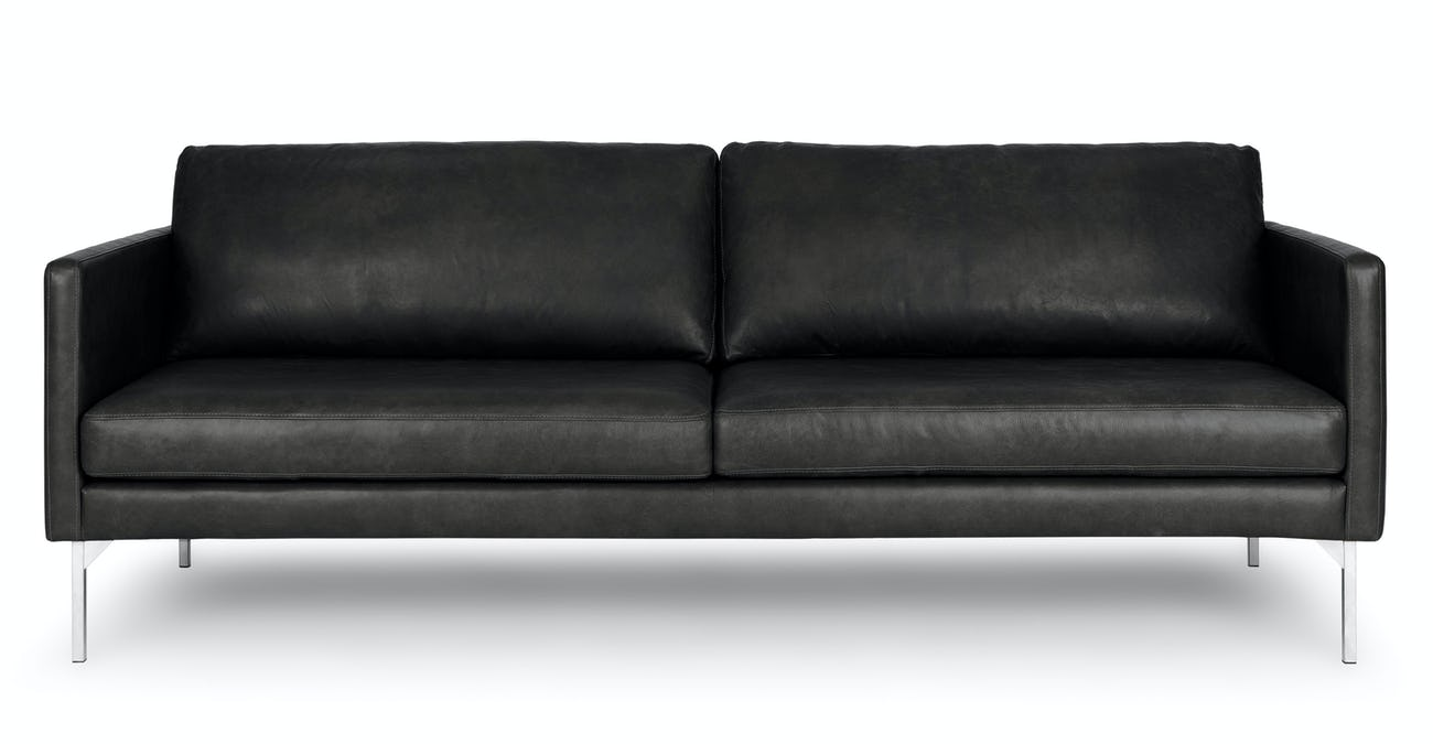 Echo Oxford Black Sofa