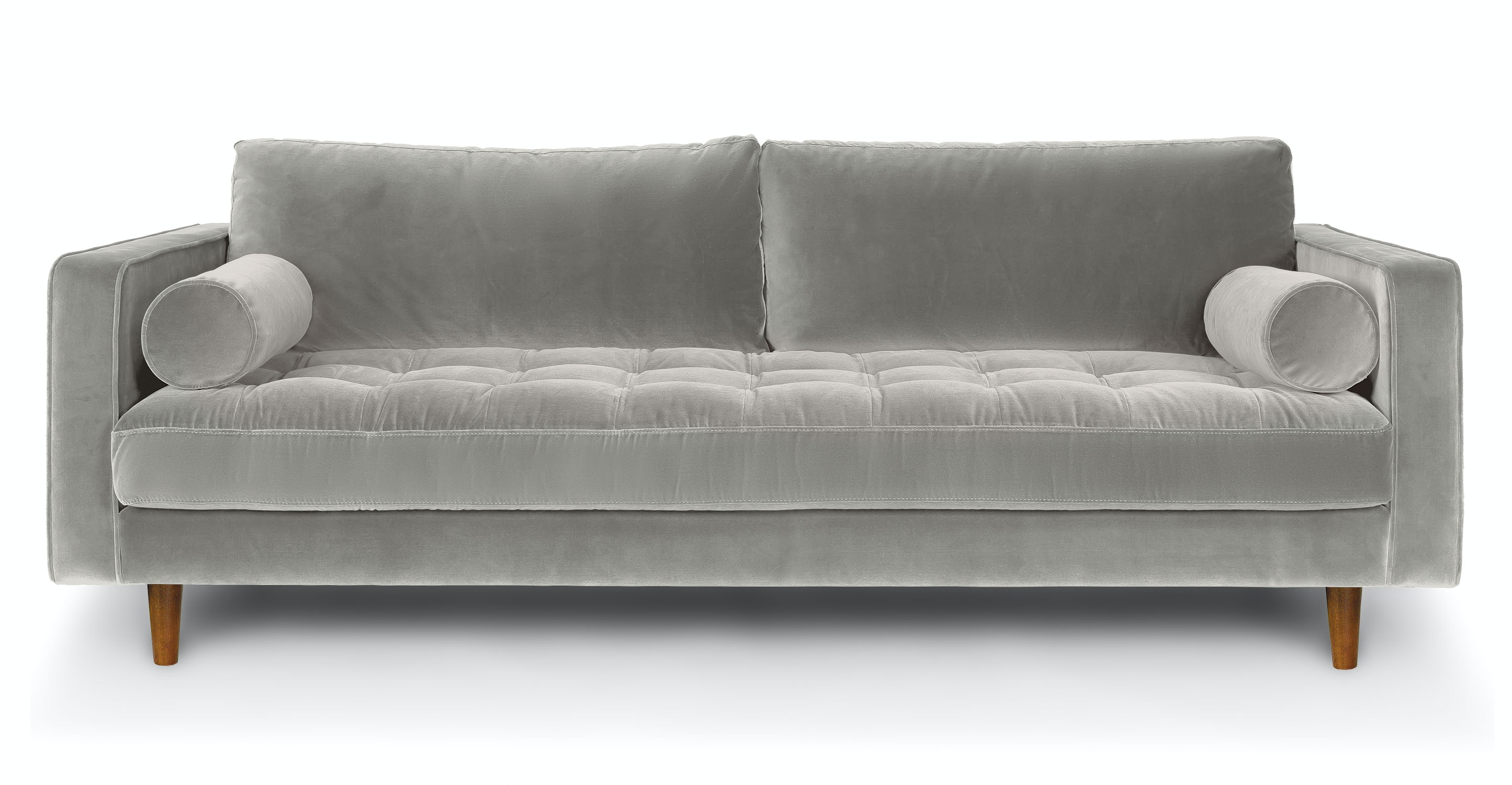 Sven Intuition Gray Sofa Sofas Article Modern Mid