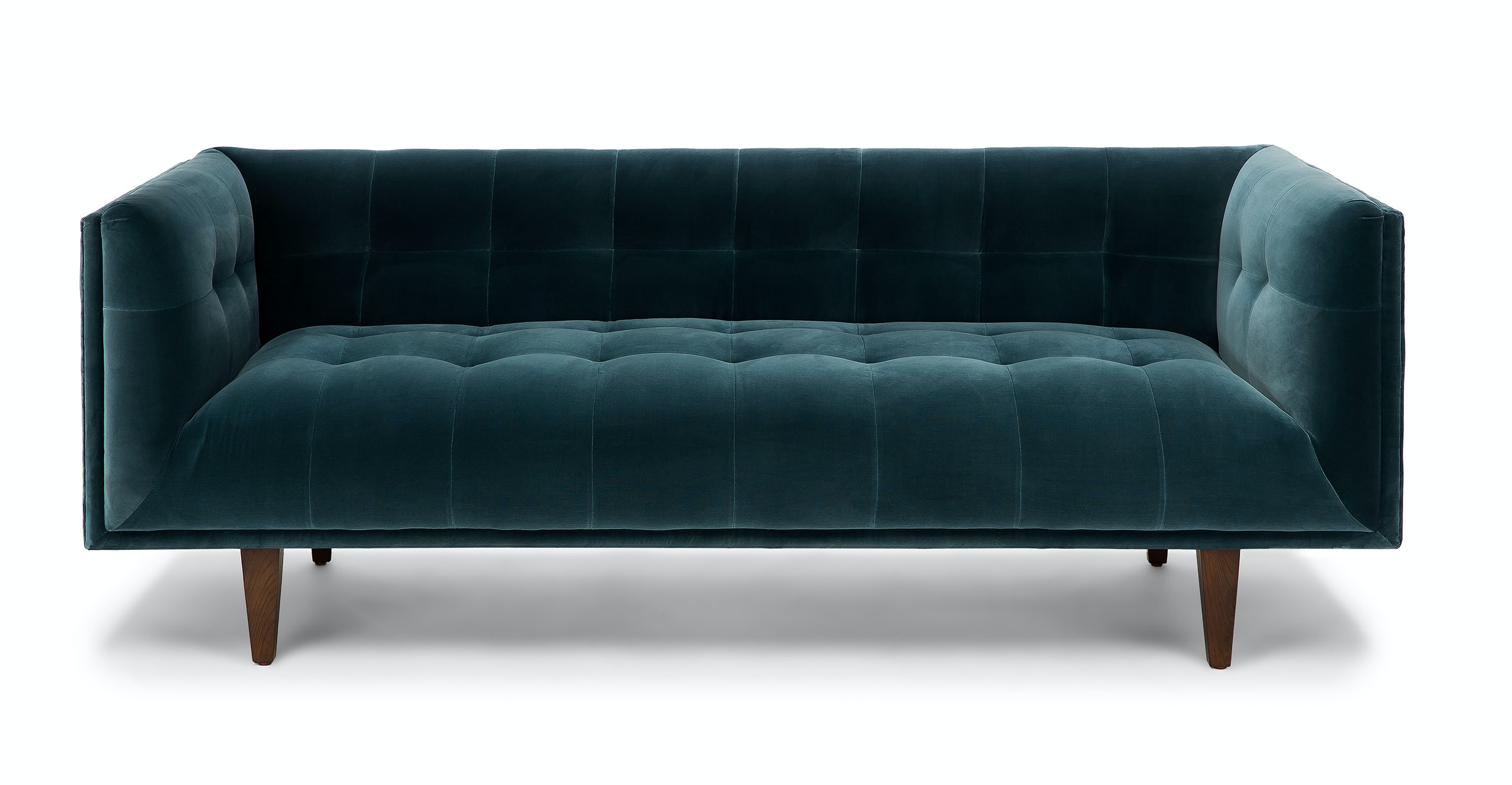 Jessica N. From Montreal, QC Bought A Cirrus Pacific Blue Sofa. U201c