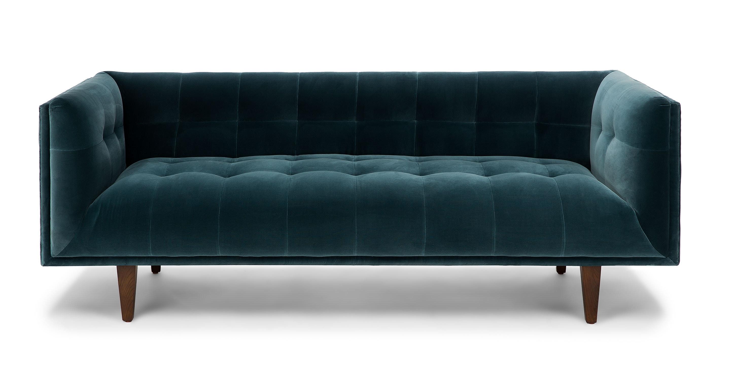Cirrus Pacific Blue Sofa Sofas Article Modern Mid
