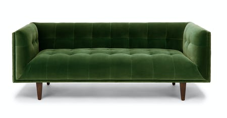 Super Velvet Sofas Article Modern Mid Century And Bralicious Painted Fabric Chair Ideas Braliciousco